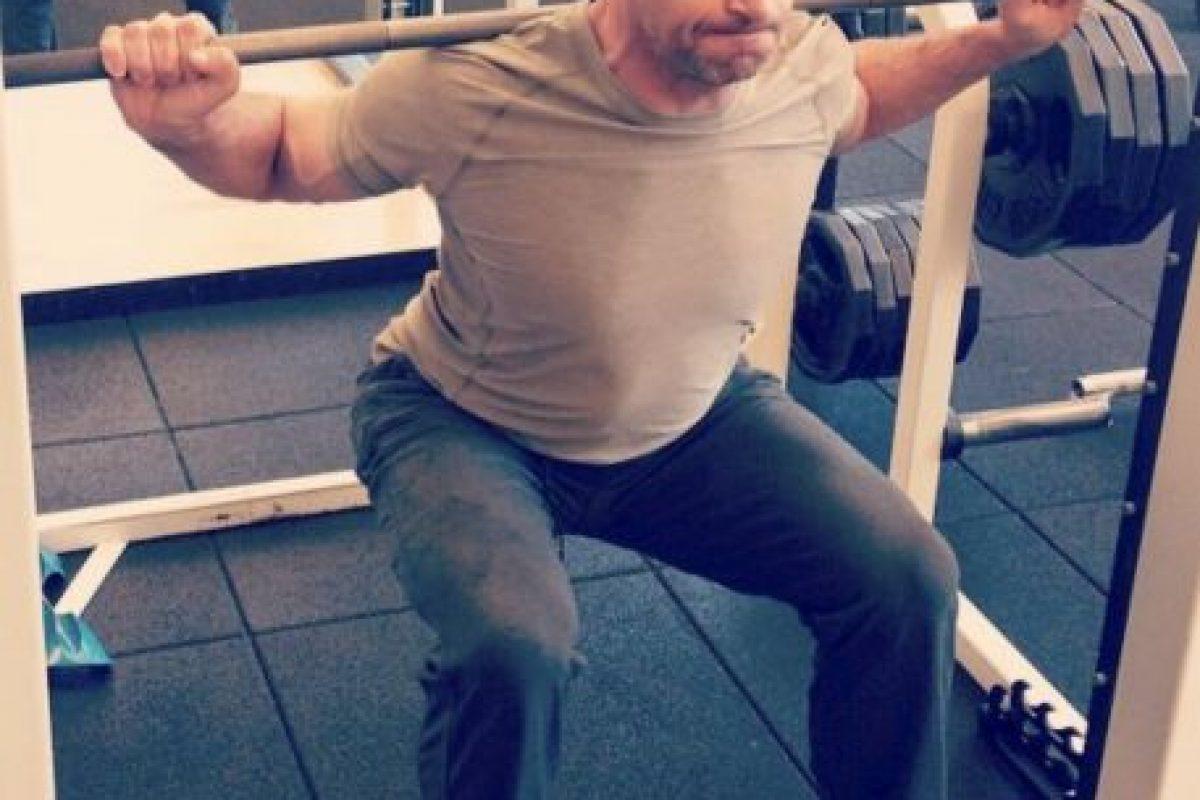 Y del ejercicio Foto:vía instagram.com/hughjackman. Imagen Por:
