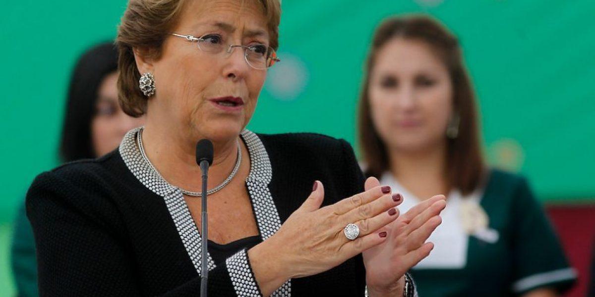 Cadem: rechazo a gestión de la Presidenta Bachelet aumenta al 68%
