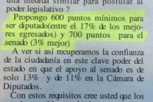 La carta en el Diario Foto:Reproducción. Imagen Por: