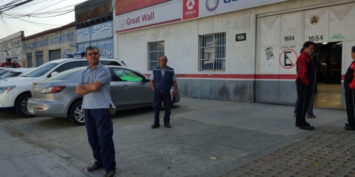Ñuñoa: Investigan millonario robo que afectó a automotora en Semana Santa