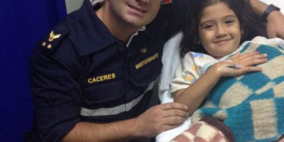 Heroica acción: marino se lanza al mar y rescata a un padre y su hija en Antofagasta