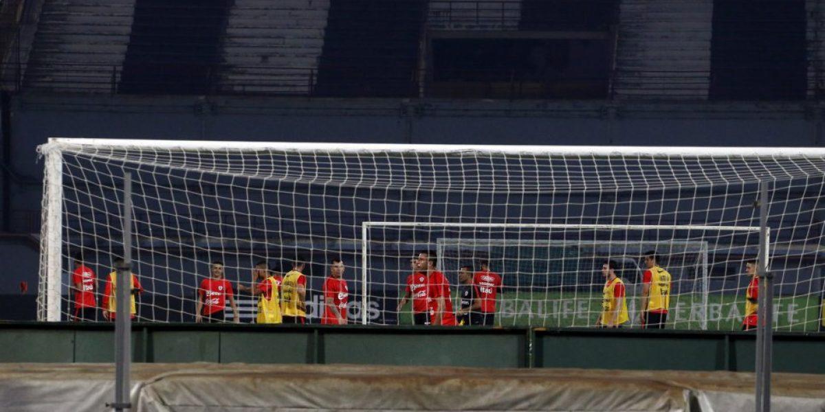 Chile realizó su última práctica antes de enfrentar a Venezuela