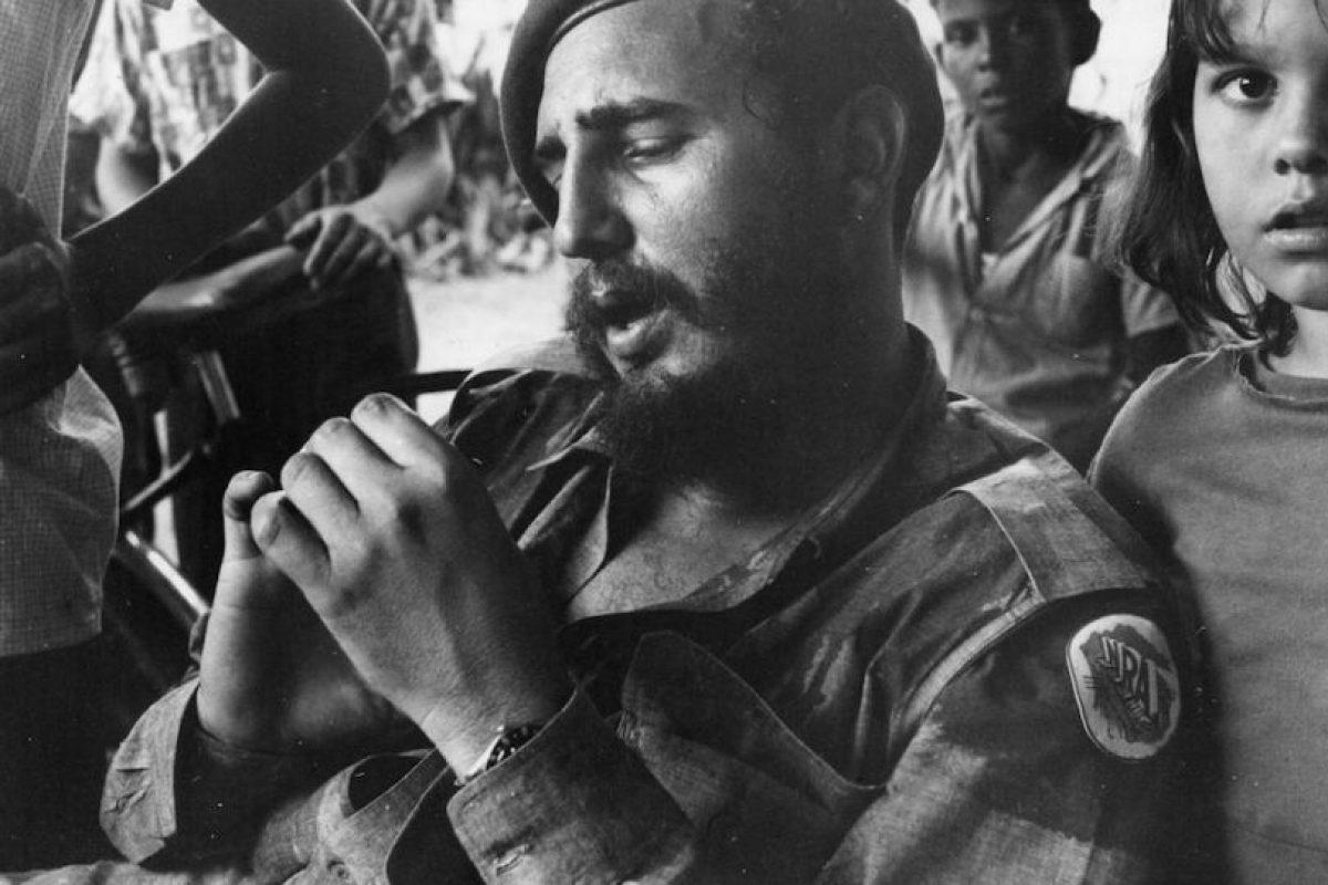 """""""Si nosotros hubiéramos sido de barro, si nosotros hubiésemos sido elaborados con clara de huevo, si nosotros hubiésemos sido blandos, ¿qué quedaría de este país?, ¿qué quedaría de esta Revolución?"""", dijo en abril de 1992 Foto:Getty Images. Imagen Por:"""
