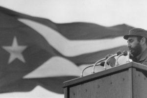 """""""¡Cuando un pueblo enérgico y viril llora, la injusticia tiembla!"""", expresó en 1976, en la despedida a las víctimas de un atentado terrorista contra Cubana de Aviación Foto:Getty Images. Imagen Por:"""