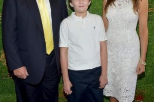 Barron Trump Foto: Getty Images. Imagen Por:
