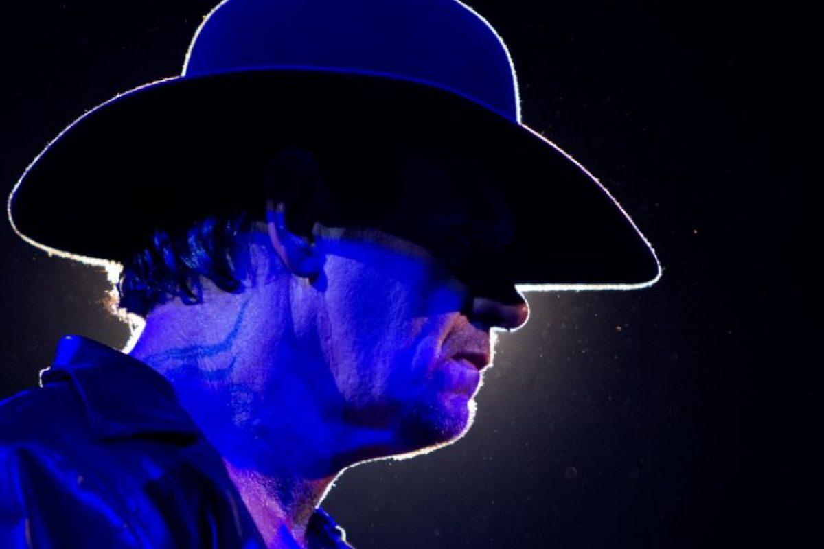 """Si """"Taker"""" pierde nunca más podrá presentarse en Wrestlemania Foto:WWE. Imagen Por:"""