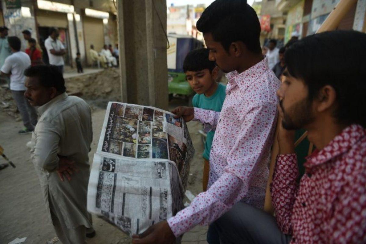 Se lo adjudicóla fracción del Talibán Jamat-ul-Ahrar. Foto:AFP. Imagen Por: