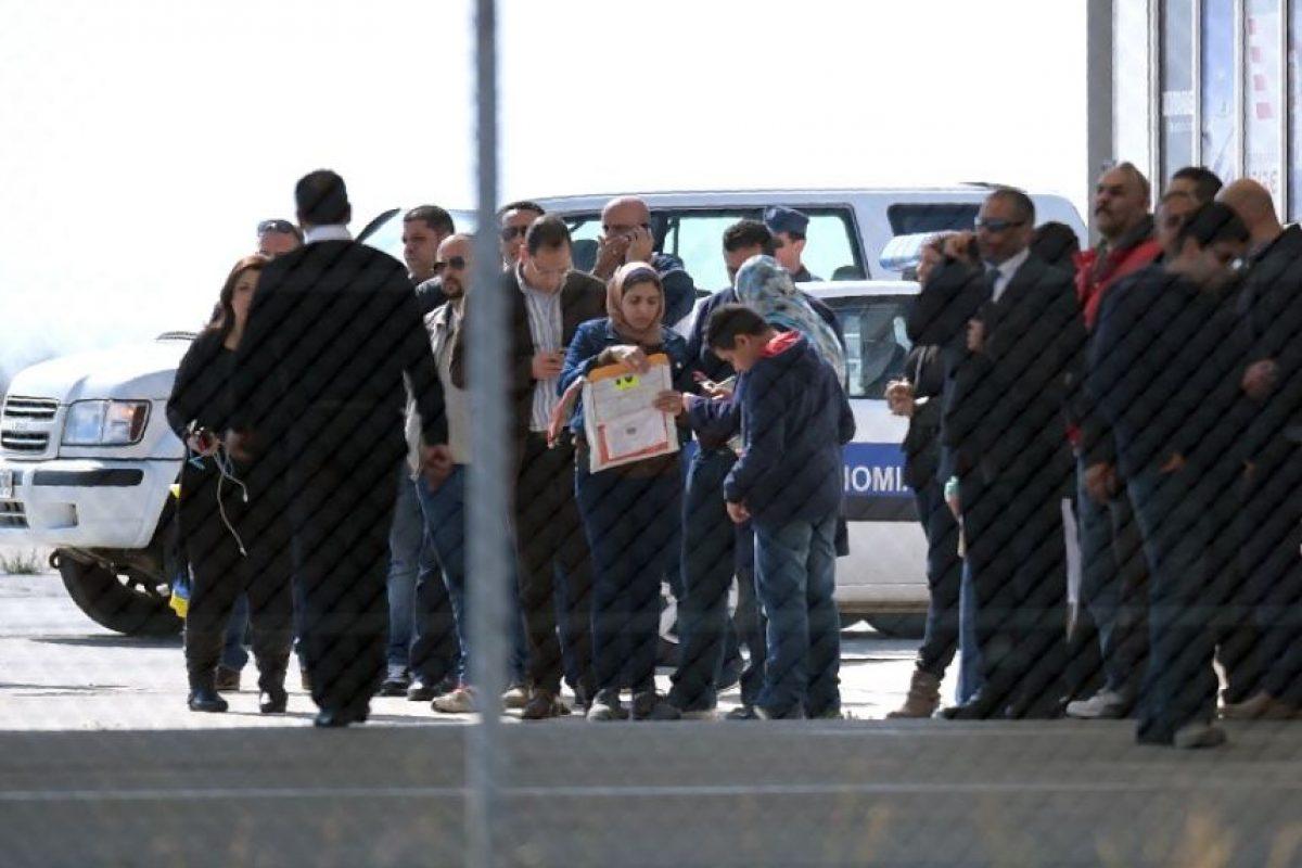 Aunque testigos aseguran que también pedía la liberación de algunas mujeres presas Foto:AFP. Imagen Por: