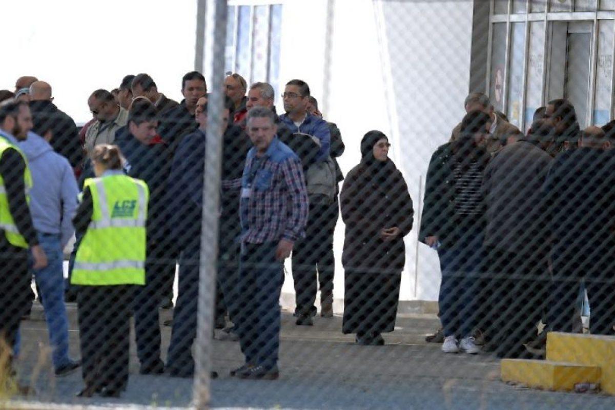 Aunque dijo tener un cinturón de explosivos, esto fue descartado por las autoridades Foto:AFP. Imagen Por: