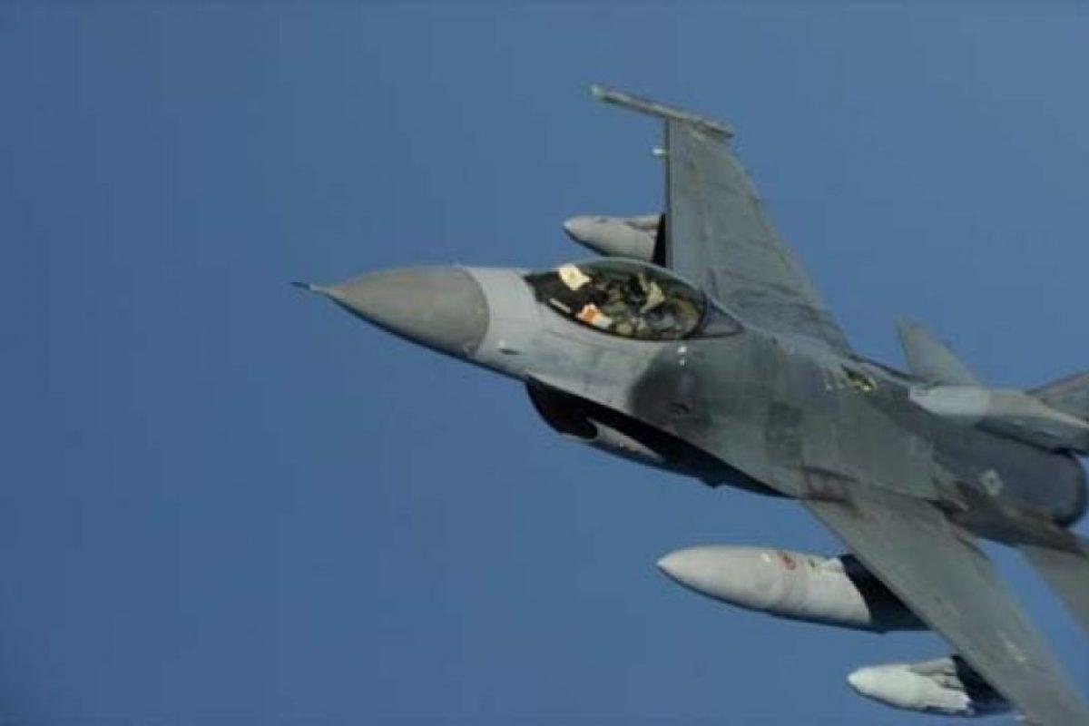 El caza F-16. Foto:Efe. Imagen Por: