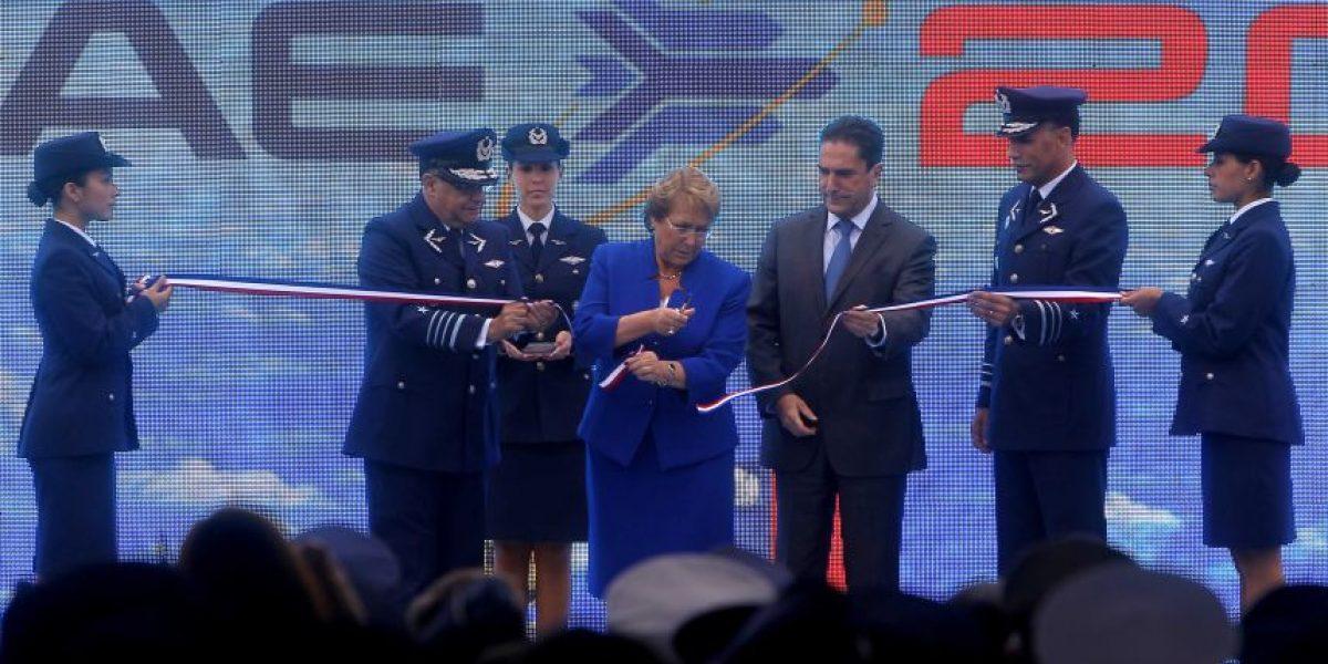 Presidenta Bachelet inaugura nueva versión de la Fidae