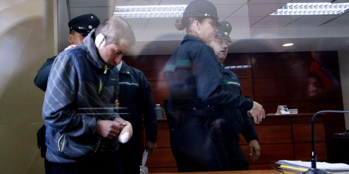 Prisión preventiva para sujeto que quemó viva a su pareja en Chiguayante