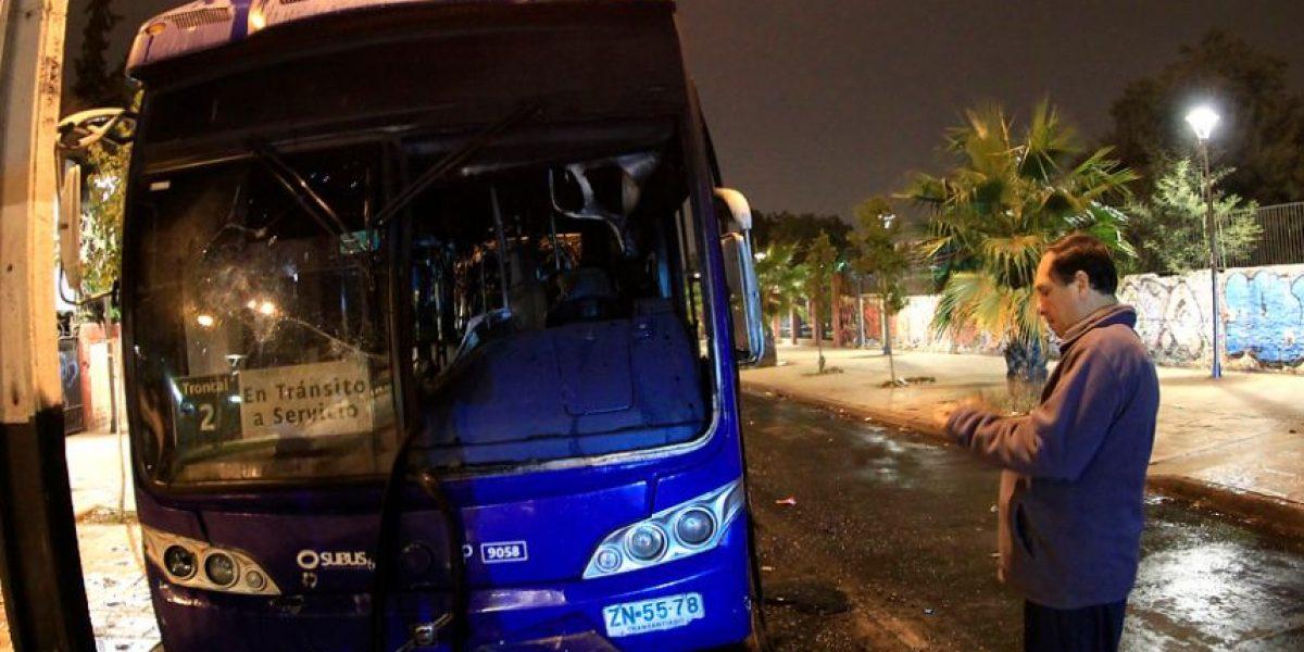Choferes del Transantiago confirman horario de paralización por Día del Joven Combatiente