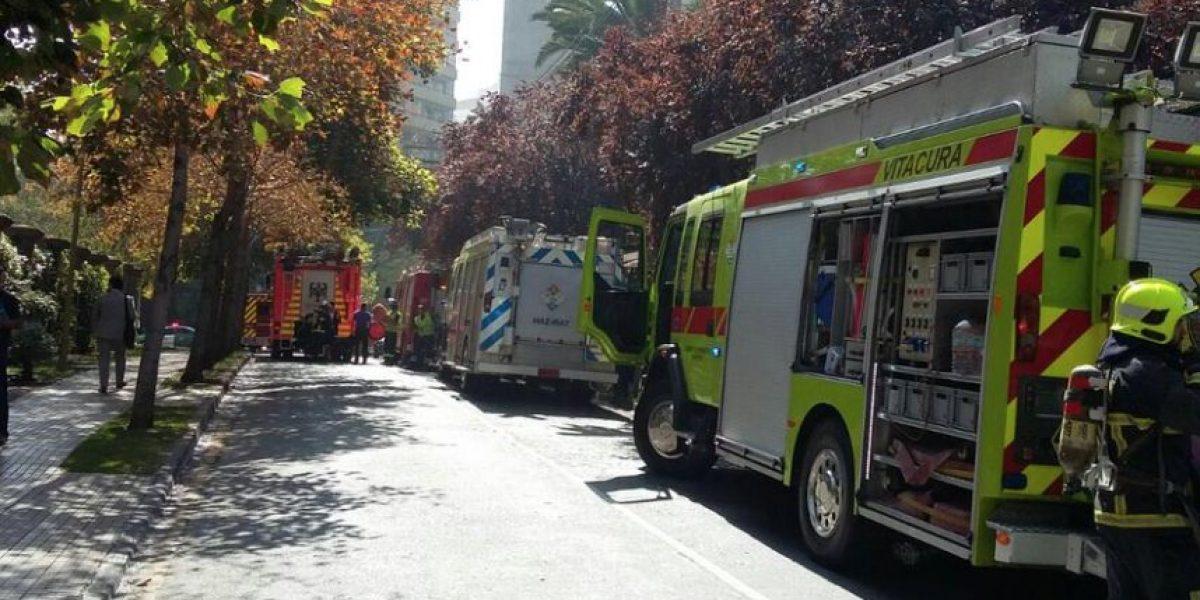 Las Condes: descartan presencia de cianuro en emergencia que dejó un muerto