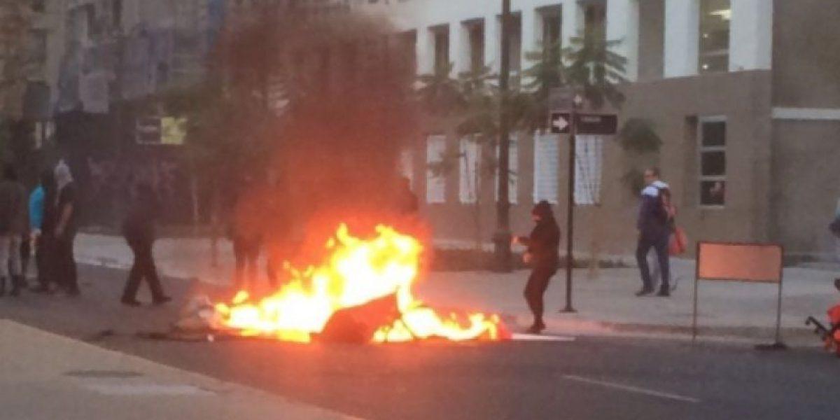 Incidentes y barricadas se registraron en Santiago por Día del Joven Combatiente