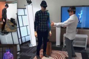 Holoportation, hologramas casi reales. Foto:PublimetroTV. Imagen Por: