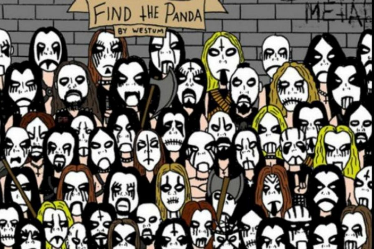 Encuentren al panda Foto:Tumblr. Imagen Por: