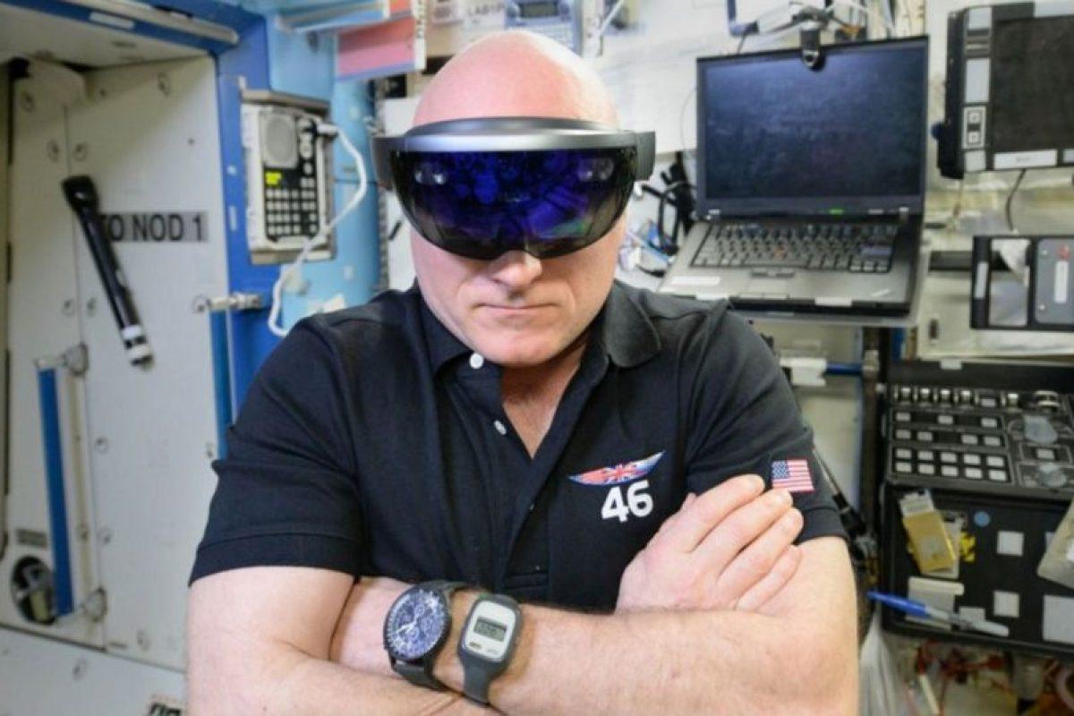 Los Hololens también podrían ayudar a astronautas. Foto:Microsoft. Imagen Por: