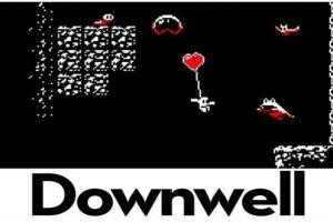 6.- Downwell. Bajen lo más que puedan acabando con sus enemigos, entre más abajo lleguen, más poderes obtendrán. Foto:Downdell. Imagen Por: