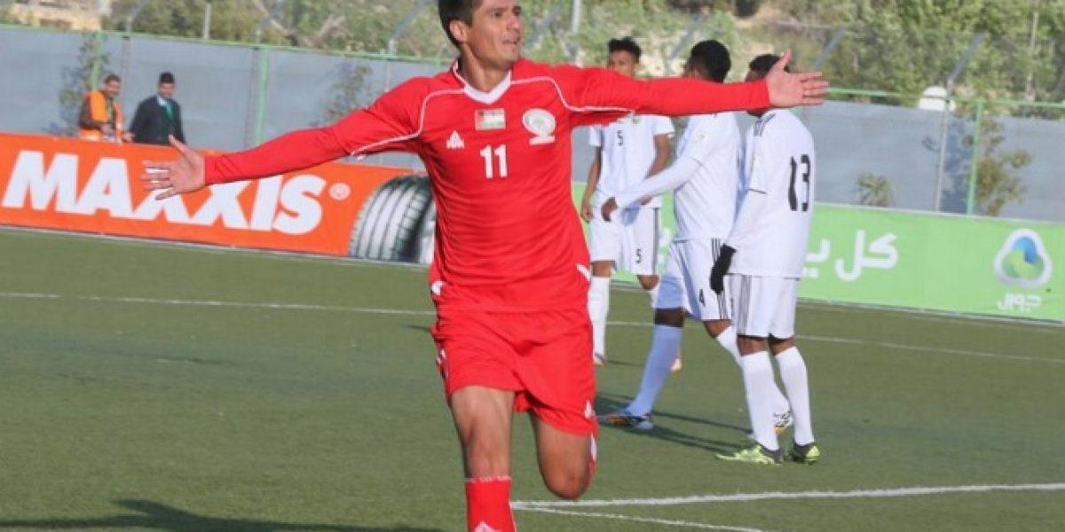 Yashir Pinto se confiesa tras debut goleador en Palestina: