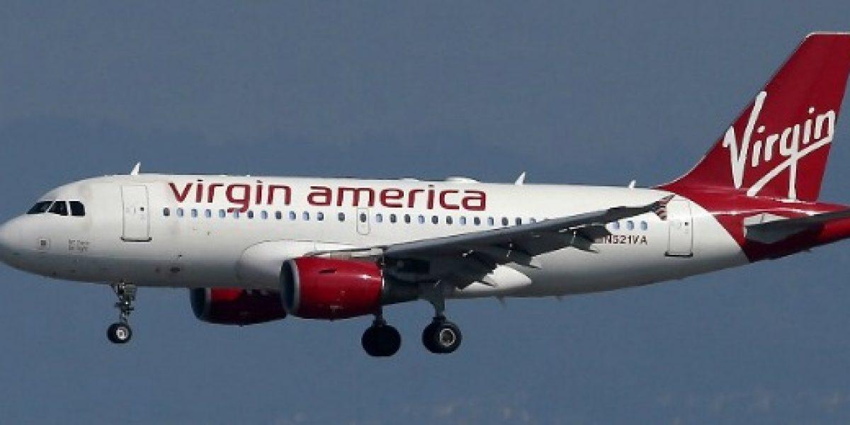 Dos aerolíneas de EEUU estarían interesadas en comprar Virgin America
