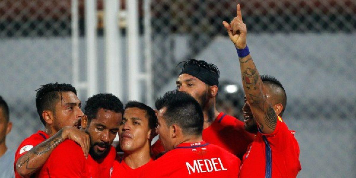 Así vivimos la goleada de Chile ante Venezuela en Barinas