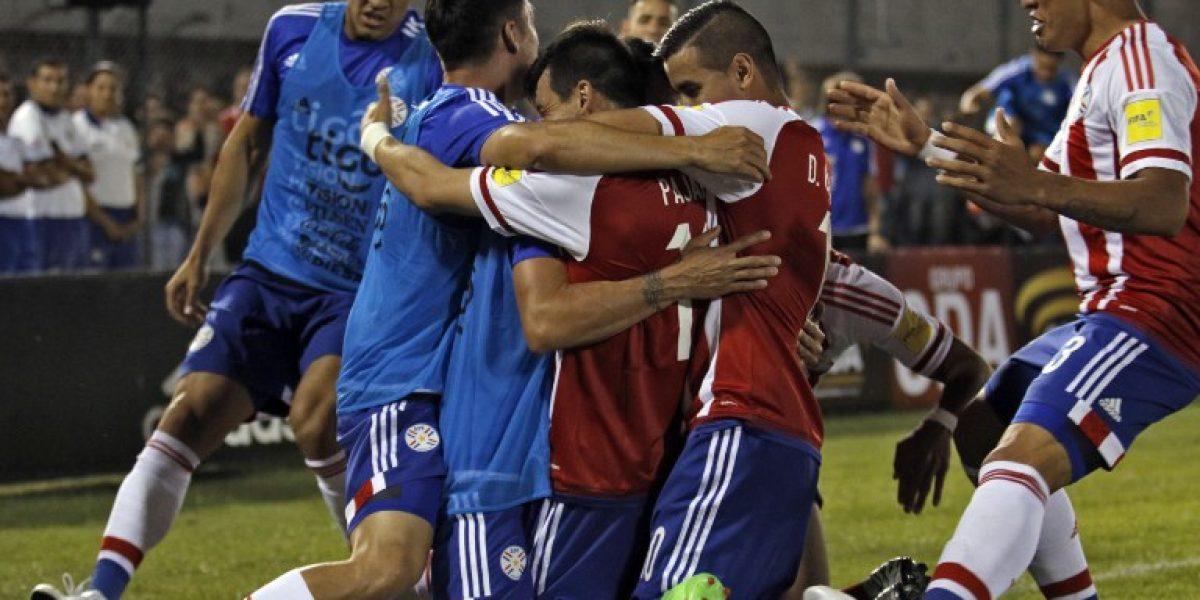 Paraguay desperdició su ventaja en los últimos minutos y salvó a Brasil