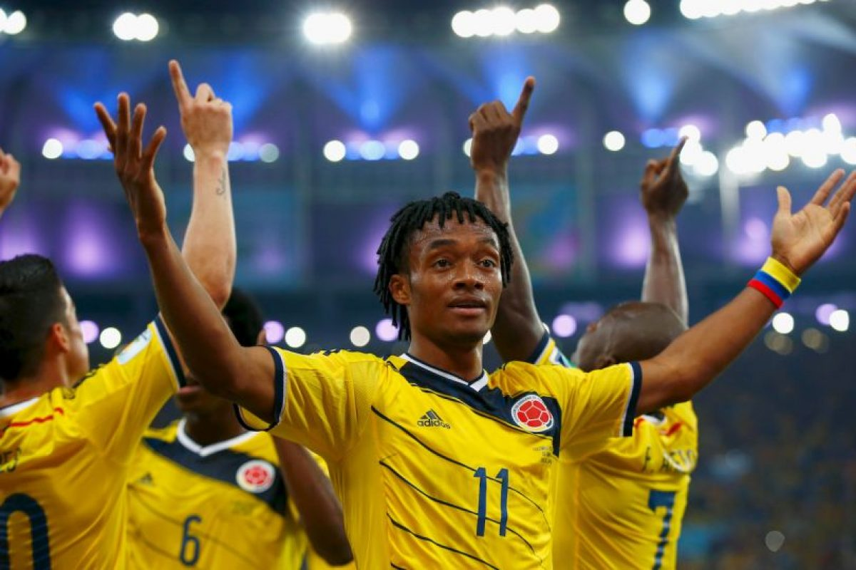 Colombia suma siete puntos Foto:Getty Images. Imagen Por: