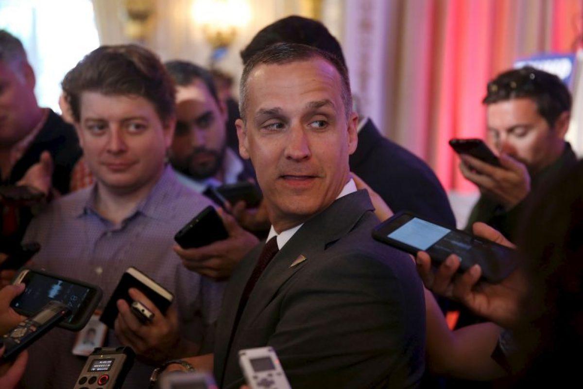 Corey Lewandowski tiene 42 años. Foto:Getty Images. Imagen Por: