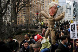 Esta situación tuvo que ver con la polémica candidatura de Donald Trump Foto:Getty Images. Imagen Por: