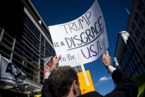 Trump logró que la gente lo señale como racista, nazi y sexista. Foto:Getty Images. Imagen Por: