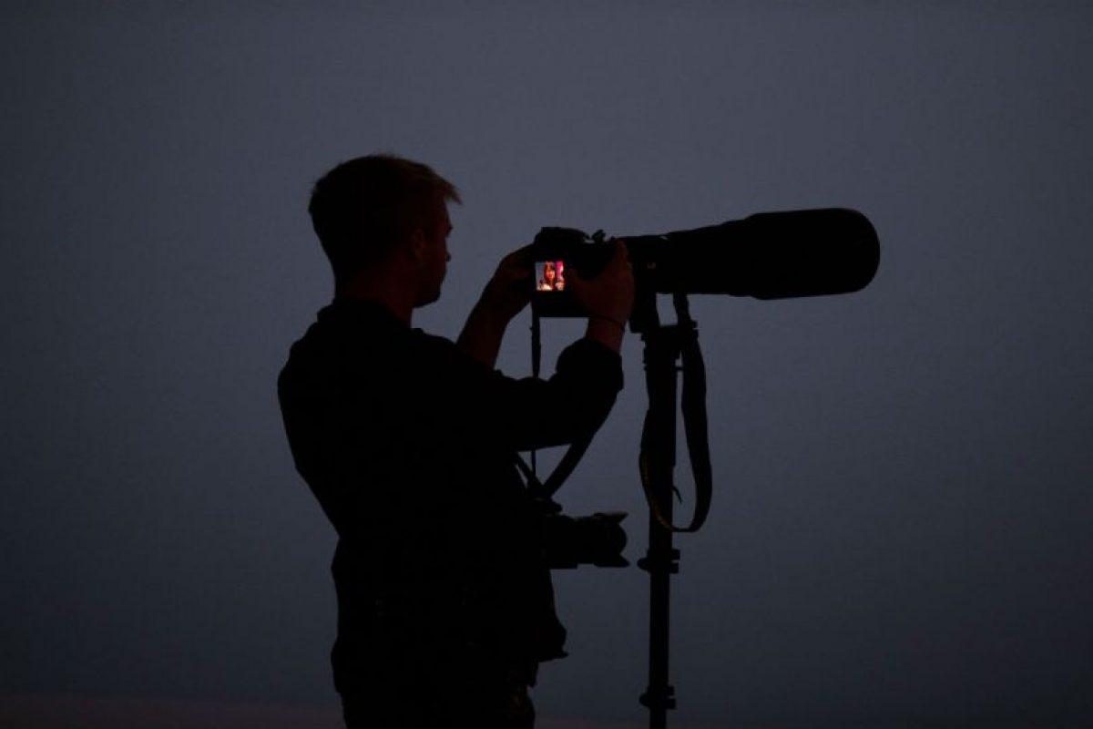 Los fotógrafos también pueden respirar, pues probablemente no tengan problemas. Foto:Getty Images. Imagen Por:
