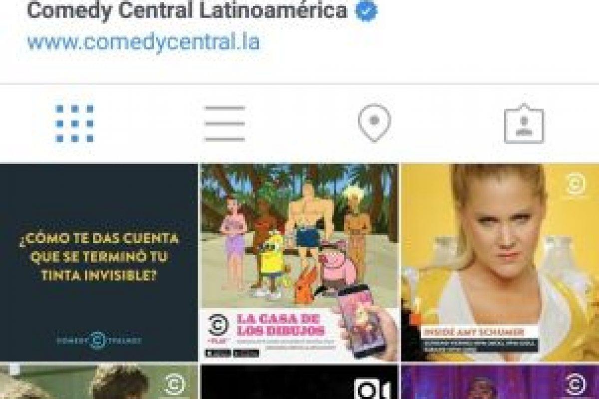 En esta red social también pueden seguir cuentas con contenido divertido. Foto:Instagram. Imagen Por: