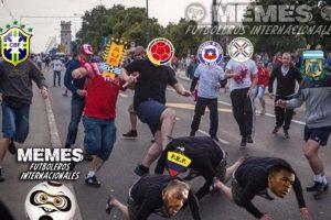 """Y ahora, las burlas van hacia la """"Tricolor"""". Foto:Vía facebook.com/Memes-Futboleros-Internacionales-785576564852677. Imagen Por:"""