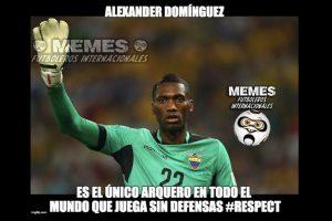 Ecuador perdió 3-1 ante Colombia. Foto:Vía facebook.com/Memes-Futboleros-Internacionales-785576564852677. Imagen Por: