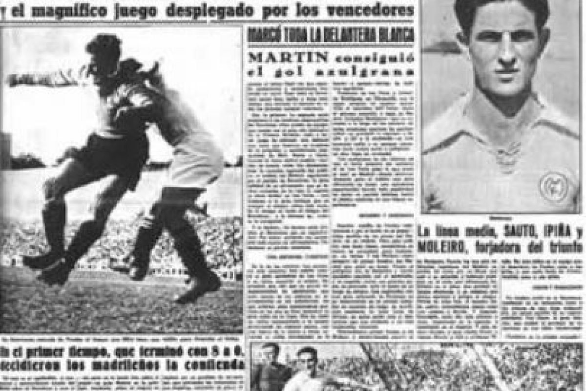 Los Merengues se impusieron 11-1 con goles de Barinaga (4), Pruden (3), Alonso (2), Botella y Alsúa. Martín descontó para el Barça ya con el 11-0 en el marcador. Foto:Marca.com. Imagen Por: