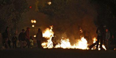 Incidentes en Santiago por el Día del Joven Combatiente dejan 20 detenidos