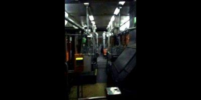 La fantasmal imagen del recorrido 210 del Transantiago que asusta en las redes sociales