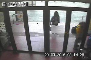 Las cámaras de seguridad registraron el hecho. Foto:Gentileza. Imagen Por: