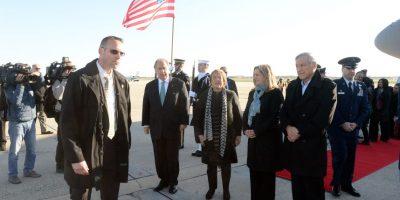 Presidenta Bachelet inicia gira en Washington por Cumbre de Seguridad Nuclear