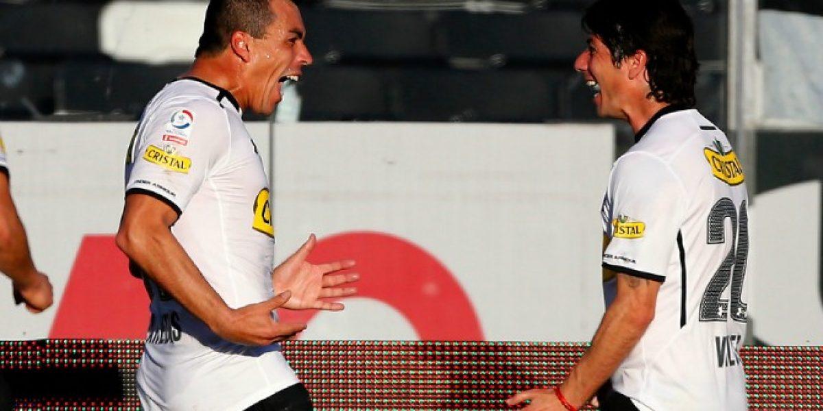 Colo Colo recupera a Jaime Valdés y a Esteban Paredes para el fin de semana