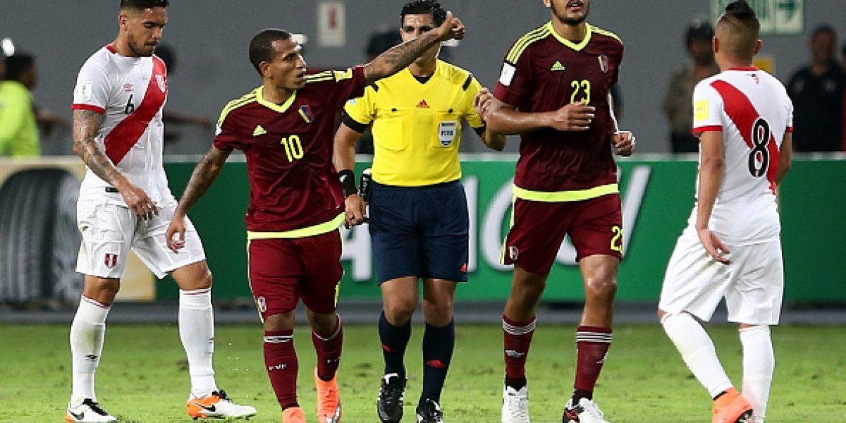 Jugadores de Perú fueron