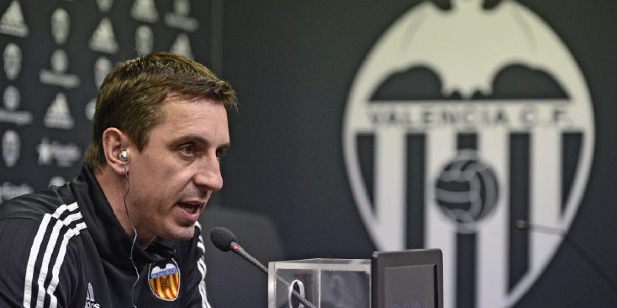 ¿Hueco para Pellegrini? Valencia despide a Neville por malos resultados