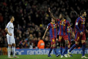Del lado culé, la mejor racha es de 5 triunfos seguidos de la temporada 2009/2010 a la 2010/2011. Foto:Getty Images. Imagen Por: