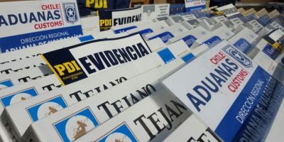 PDI y Aduanas decomisan más de 32 mil cartones de cigarrillos de contrabando