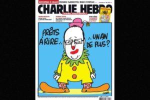 También se burlaban del presidente Francois Hollande. Foto:Charlie Hebdo. Imagen Por: