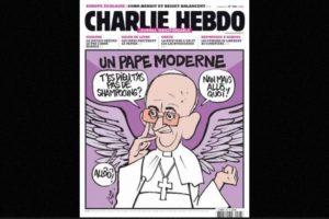 Al igual que autoridades religiosas, como el Papa Francisco. Foto:Charlie Hebdo. Imagen Por: