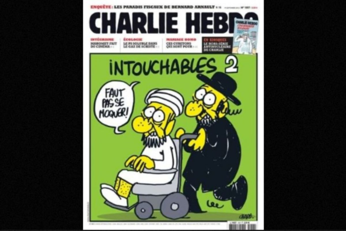 Y de comunidades, como la judía Foto:Charlie Hebdo. Imagen Por: