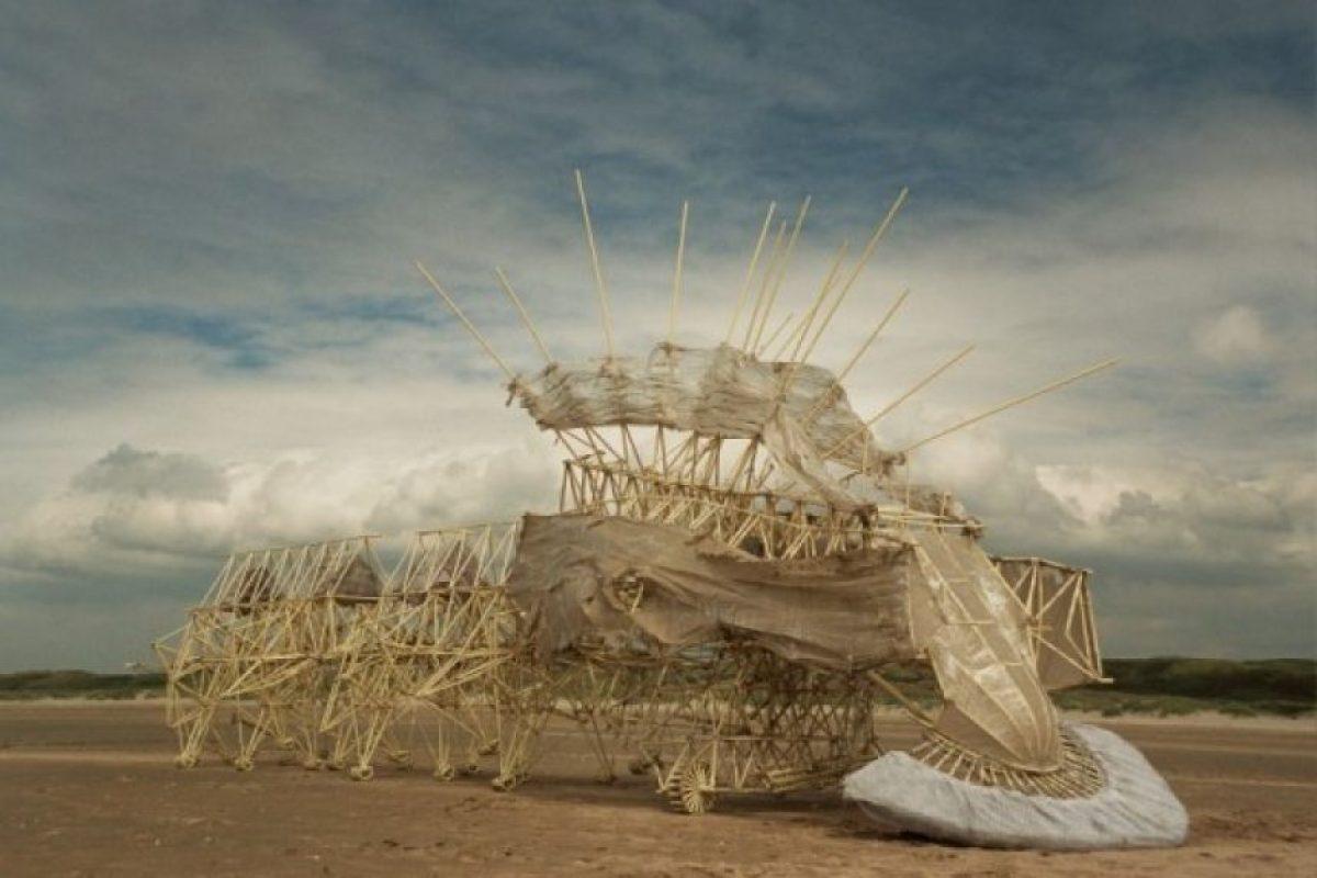Foto:Strandbeest.com. Imagen Por: