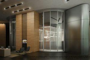Tendrá 3 residencias por planta. Foto:Porsche Design Tower. Imagen Por: